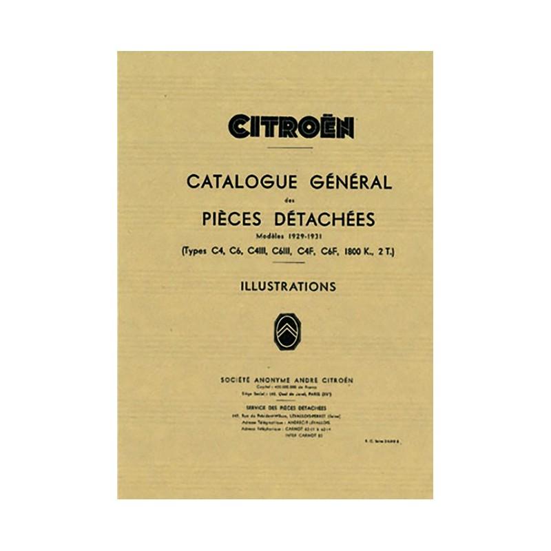 Catalogue Pieces  C4 & C6