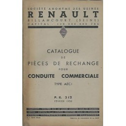 Catalogue de Pieces AEC 1