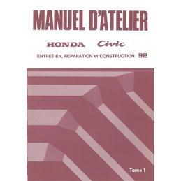 Manuel Atelier 1992 Tome 1