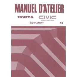 Manuel Atelier CRX 1989