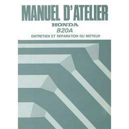 Manuel Atelier Moteur B20A