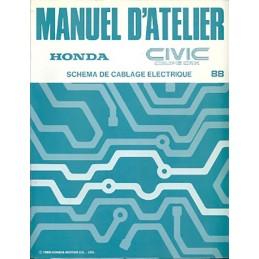 Manuel Electricité Civic CRX 1988