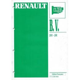 Manuel Reparation BV JH / JR