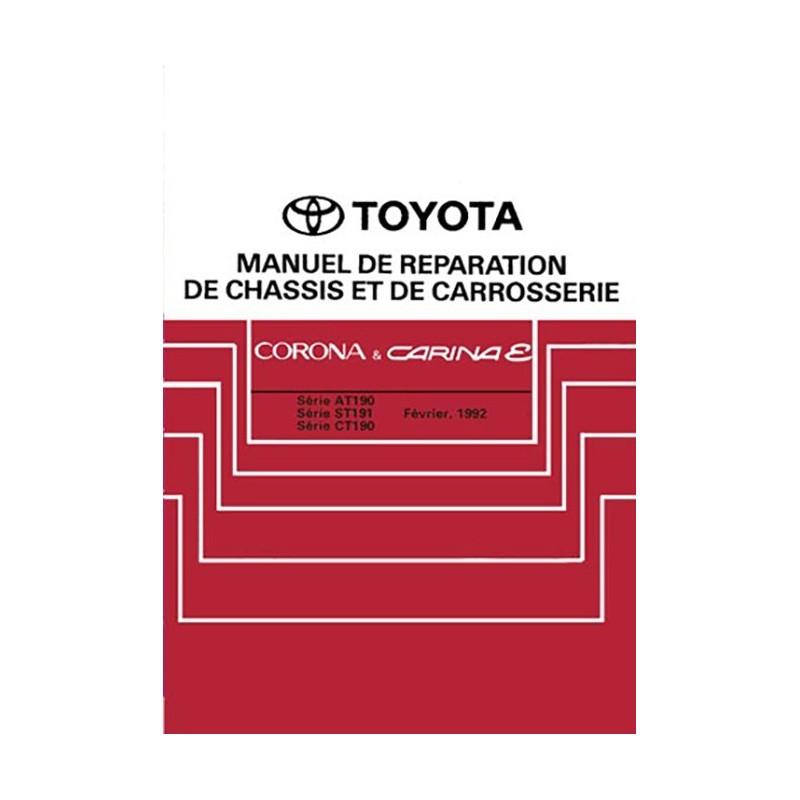 Manuel Atelier Mecanique 1992