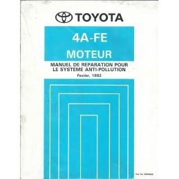 Manuel Atelier Moteur 4A-FE