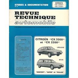 Revue Technique CX 2000 - 2200