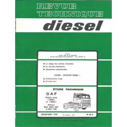 Revue Technique Diesel 1976