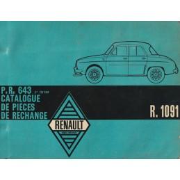 Catalogue de Pieces R 1091