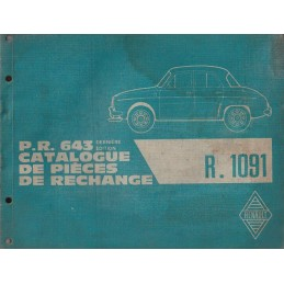 Catalogue de Pieces R 1091