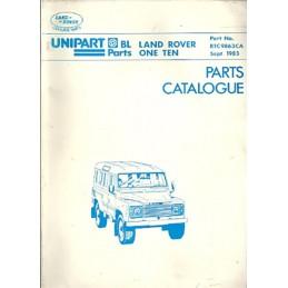 Catalogue de Pieces 1983