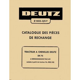 Catalogue Pieces DK 75