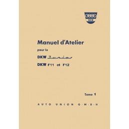 Manuel Atelier Junior / F11 / F12