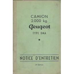 Notice d' Entretien DMA