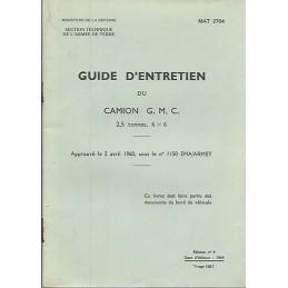 Guide d'Entretien GMC