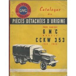 Catalogue Pieces GMC