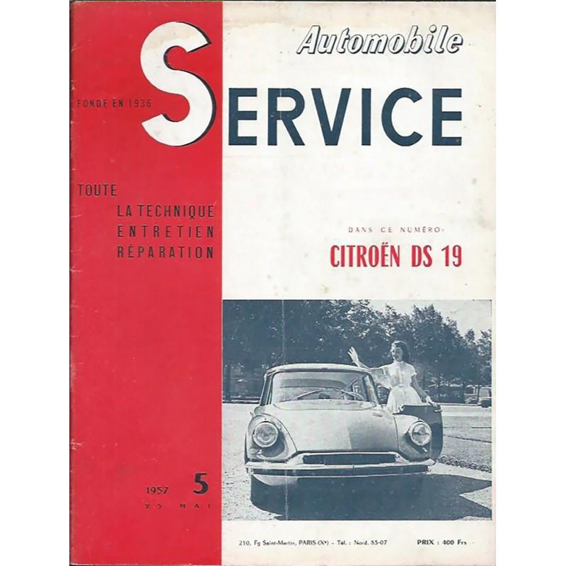 Revue Technique DS 19 1957