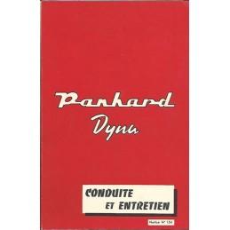 Notice d' Entretien 1959