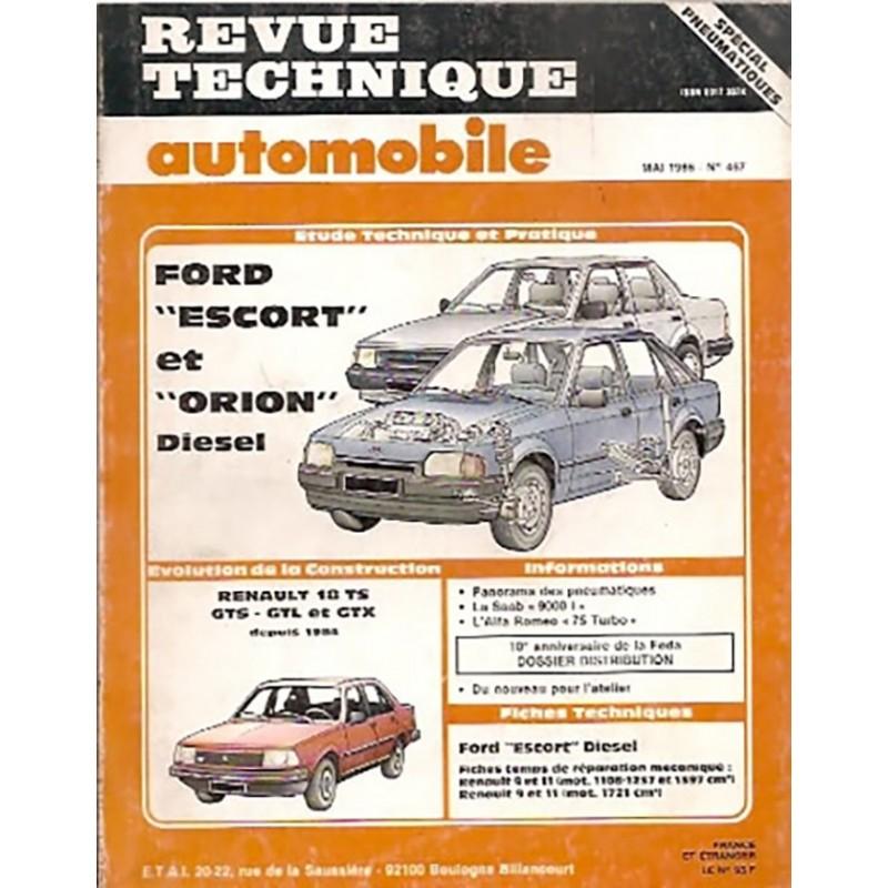 Revue Technique  1986