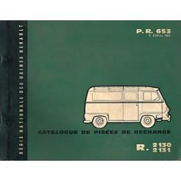 Catalogue Pieces R2130 / R2131