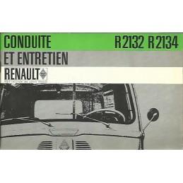 Notice d' Entretien R2132 / R2134