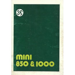 Notice d' Entretien  1977