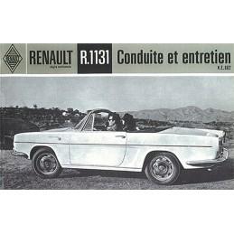 Notice d' Entretien R 1131