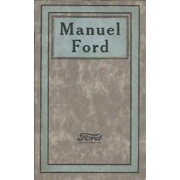 Notice d' Entretien  Ford T