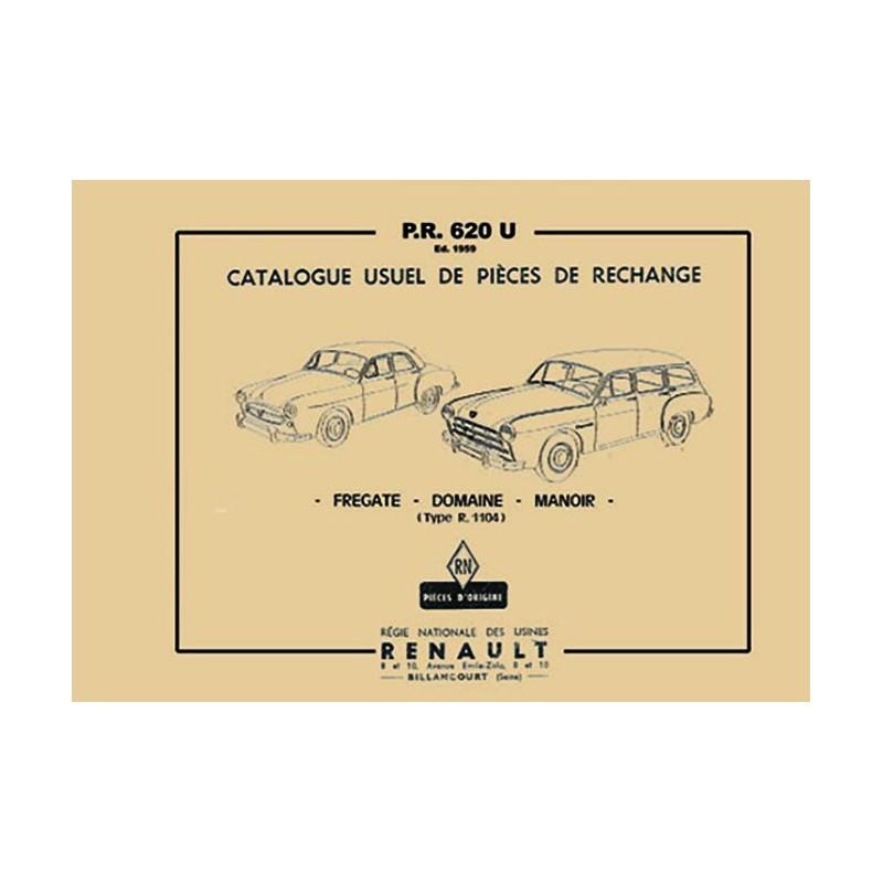 Catalogue de Pieces  R 1104