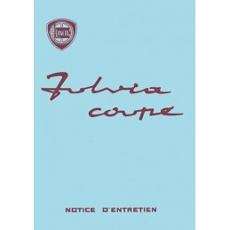 Notice d' Entretien 1965