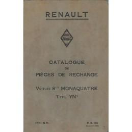 Catalogue de Pieces YN 1