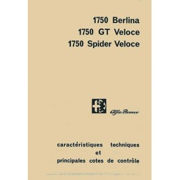 Manuel Technique 1750 GTV
