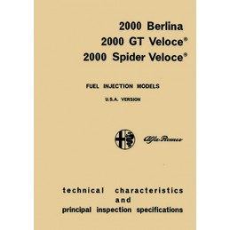 Manuel Technique 2000 GTV (USA)