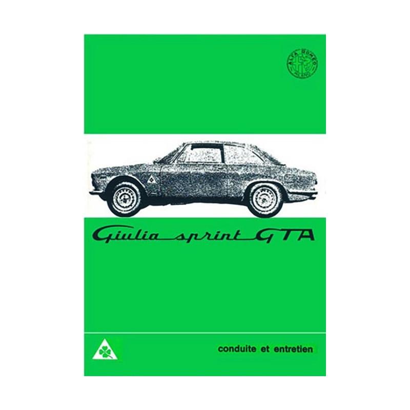 Notice Entretien GTA 1966