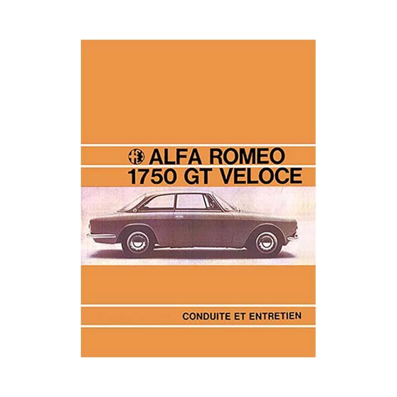 Notice Entretien 1750 GTV 1968