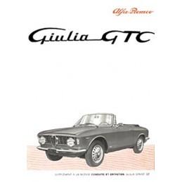 Notice Entretien  GTC 1965