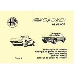 Catalogue de Pieces 2000 T1