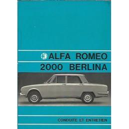 Notice Entretien 2000 1971