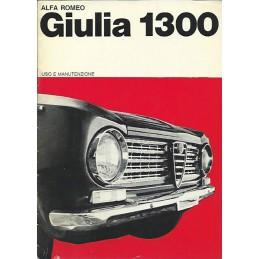 Notice Entretien Giulia 1964