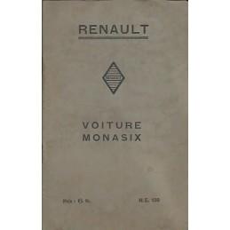 Notice d' Entretien Monasix