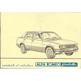 Notice d' Entretien  1982