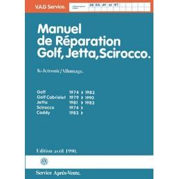 Manuel Reparation Golf  GTi