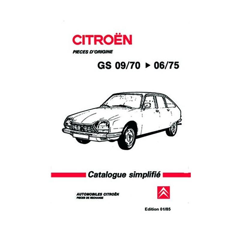 Catalogue Pieces Detachées 1975